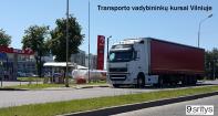Transporto vadybininkų mokymų kursai Vilniuje